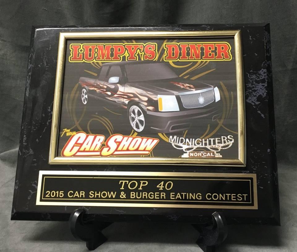 Car Show Plaque American Trophies Awards Engraving - Car show awards
